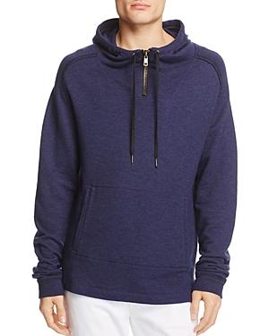 Blanknyc Half-Zip Hoodie Sweatshirt