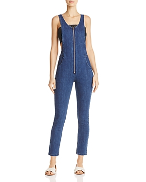 Free People Jax Denim Jumpsuit