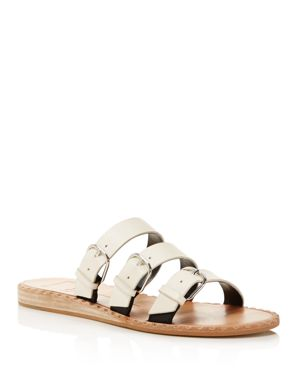 Dolce Vita Para Leather Slide Sandals