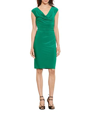 Ralph Lauren - Cowl-Neck Jersey Dress
