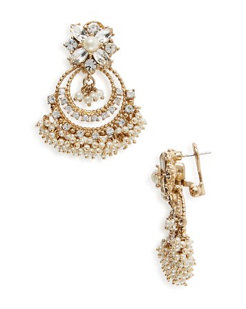 $Marchesa Chandelier Earrings - Bloomingdale's