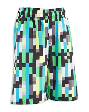 Under Armour Boys' Pixel Zoom Volley Swim Trunks - Big Kid