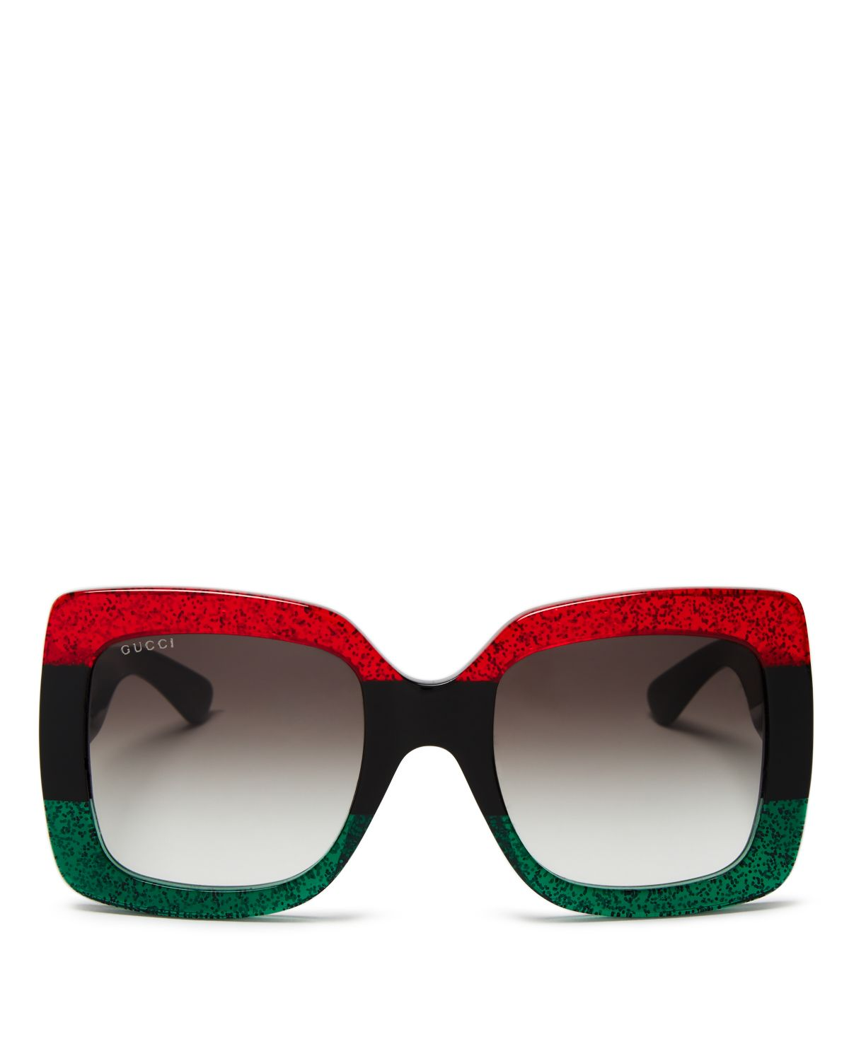 Urban Web Block Oversized Square Sunglasses, 51mm by Gucci
