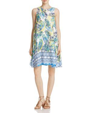 BeachLunchLounge Palm Print Shift Dress