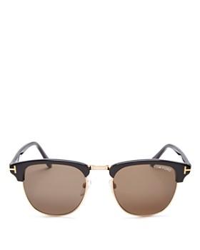 Tom Ford - Men's Henry Square Sunglasses, 51mm