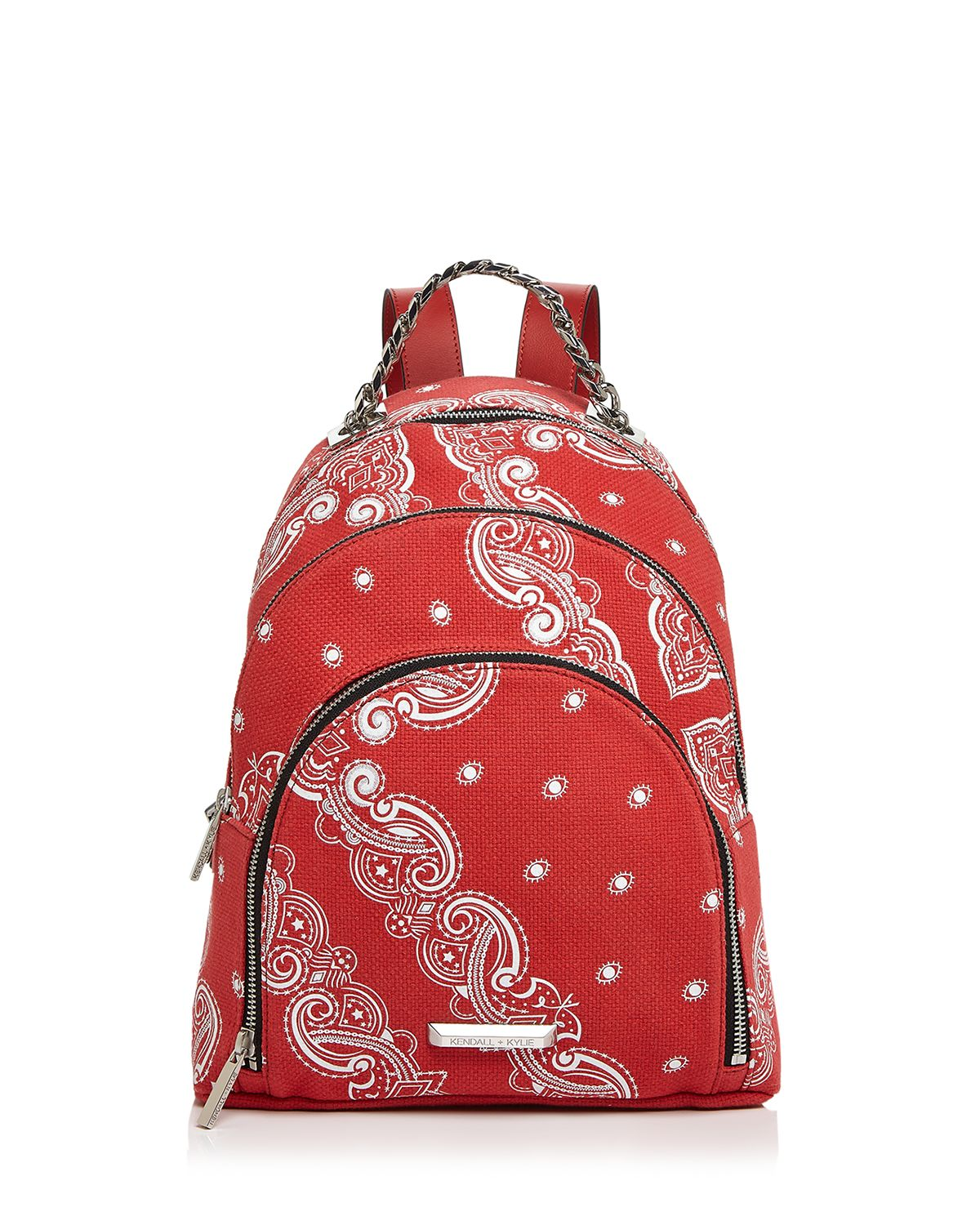 Sloane Bandana Print Backpack by Kendall And Kylie