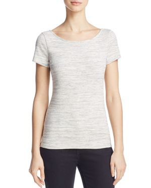 Theory Yorisa Scoop-Back Tee