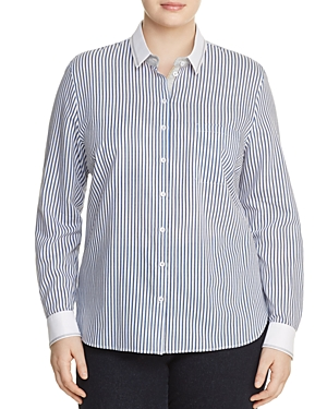 Basler Plus Trimmed Banker Shirt