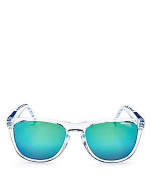Carrera Men's Mirrored Square Keyhole Sunglasses, 55mm