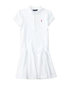 Polo Ralph Lauren Girls' Mesh Polo Shirt Dress - Big Kid - Bloomingdale's_0