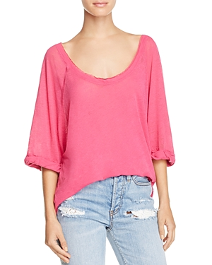 Free People Moonlight Scoop Neck Tee