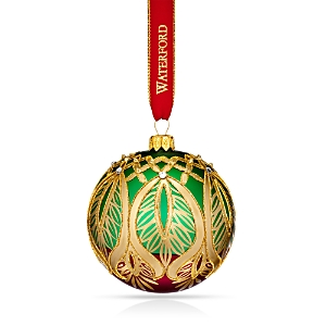 Waterford Nostalgic Peacock Grande Ball Ornament