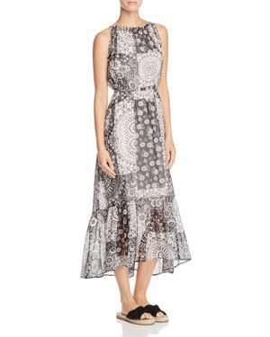Beltaine Patchwork-Print Maxi Dress