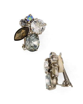 Sorrelli - Swarovski Crystal Clip-On Earrings