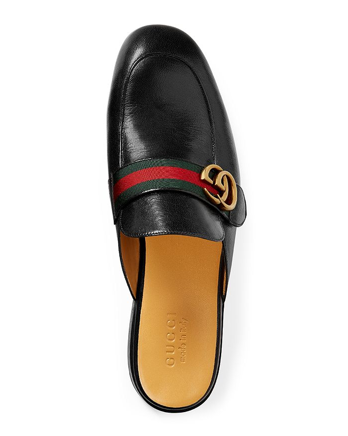 2b7c72c8de9 Gucci - Men s Princetown Leather Slippers with Double G
