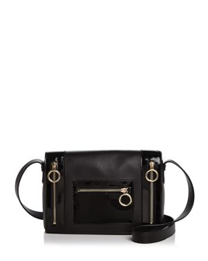 Boutique Moschino Patent Leather Shoulder Bag