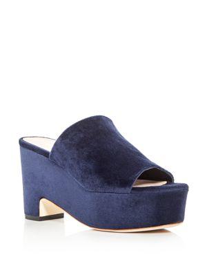Loeffler Randall Amara Platform Slide Sandals
