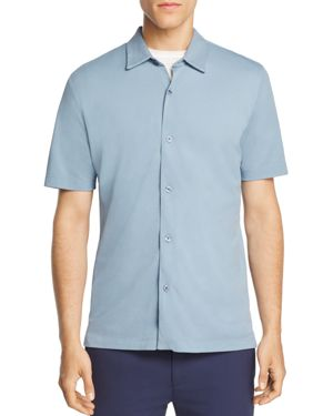 Theory Air Pique Pull-Through Slim Fit Polo Shirt