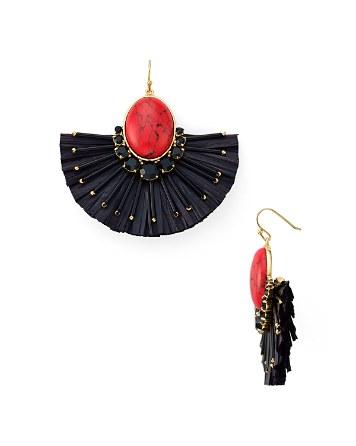 $kate spade new york Fiesta Fringe Statement Earrings - Bloomingdale's