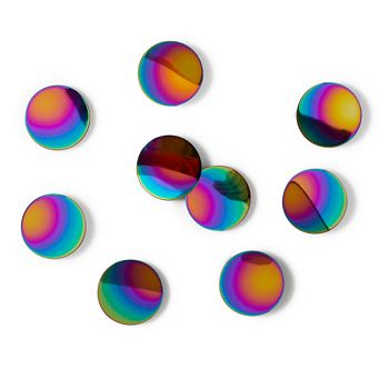 Umbra - Peel n' Stick Rainbow Confetti Dots, Set of 10
