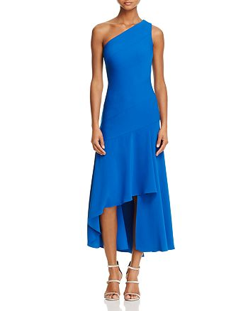 Carmen Marc Valvo Infusion - One Shoulder High/Low Dress