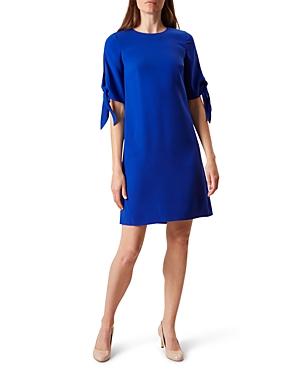 Hobbs London Anita Tie-Sleeve Dress