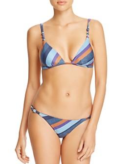 ViX - Chambray Rope Bikini Top & Chambray Rope Bikini Bottom