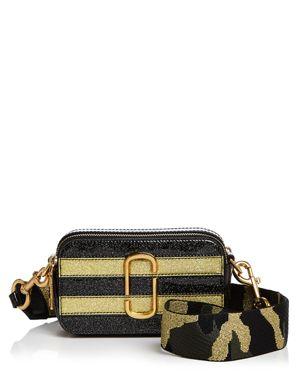 Marc Jacobs Snapshot Glitter Stripe Leather Camera Bag 2628164