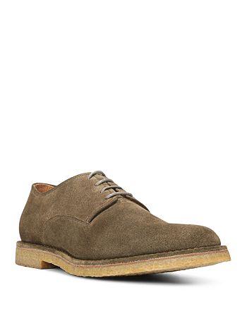 Vince - Stetson Suede Crepe Sole Derby Shoes