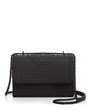 Tory Burch - Fleming Convertible Matte Small Leather Shoulder Bag