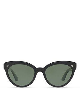 Oliver Peoples - Women's Roella Polarized Cat Eye Sunglasses, 55mm