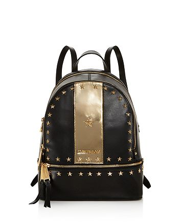 b05dc9baa6a3 MICHAEL Michael Kors - Rhea Star Stud Medium Leather Backpack - 100%  Exclusive