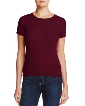 C by Bloomingdale's Cashmere Short-Sleeve Sweater - 100% Exclusive