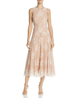 Betsey Johnson Tea-Length Lace Dress