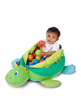 Melissa & Doug - Turtle Ball Pit - Ages 9 Months+