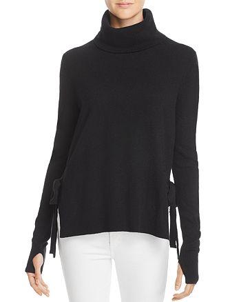 PAM & GELA - Side-Tie Turtleneck Sweater