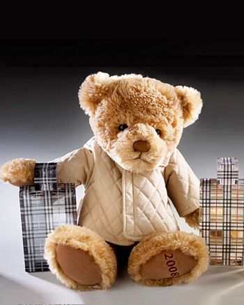 Burberry - The  Holiday Bear - FREE with any $65 Burberry Fragrance purchase!