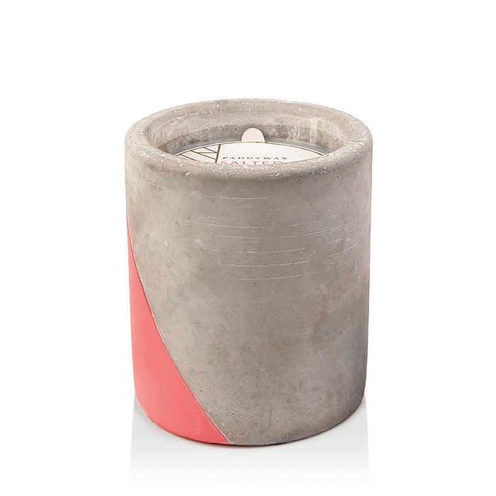 Paddywax - Urban Concrete Pot Coral Salted Grapefruit Candle