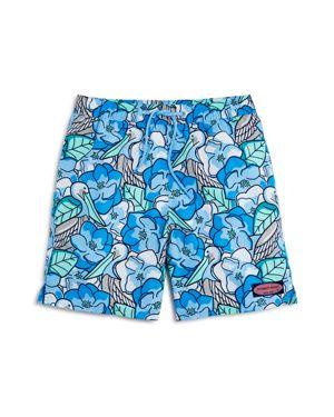 Vineyard Vines Boys' Pelican Magnolias Swim Trunks - Little Kid