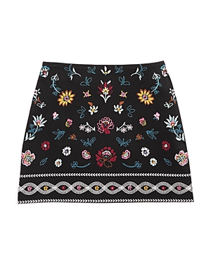 Ella Moss Girls Embroidered Kera Skirt  Big Kid