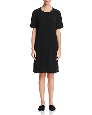 Eileen Fisher Short Sleeve A-Line Dress