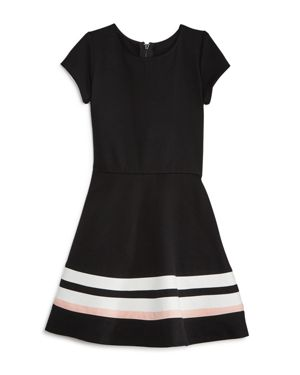 Aqua Girls' Solid & Striped Dress, Big Kid - 100% Exclusive thumbnail