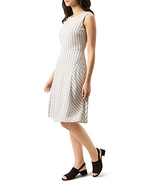 Hobbs London Belle Stripe Dress