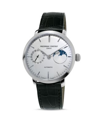 FREDERIQUE CONSTANT MANUFACTURE SLIMLINE MOONPHASE WATCH, 38.8MM