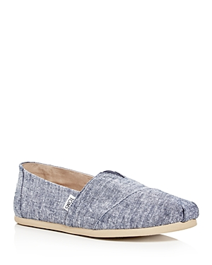 Toms Men's Seasonal Classic Chambray Slip-Ons