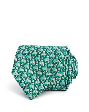 Salvatore Ferragamo Macro Elephant Classic Tie