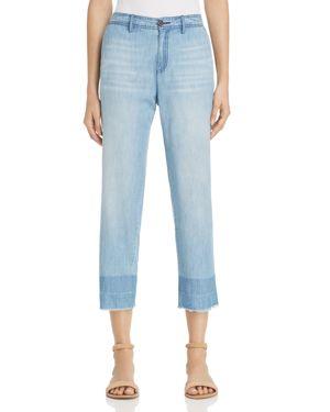 Soft Joie Marinne Frayed Chambray Pants