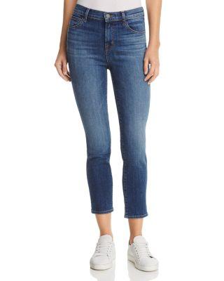J Brand Jeans Womens Ruby High Rise Crop