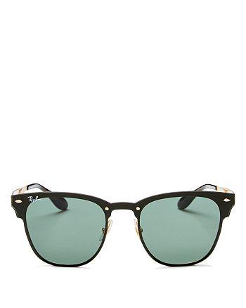 9073b807cc873 Ray-Ban - Unisex Blaze Rimless Wayfarer Sunglasses