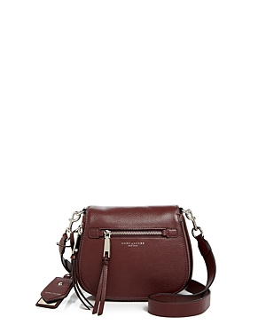 Marc Jacobs Recruit Nomad Small Leather Saddle Bag